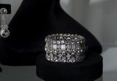 Bridal jewelry Stock Photos