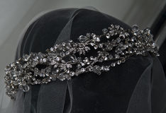 Bridal jewelry. At the stand Stock Photography
