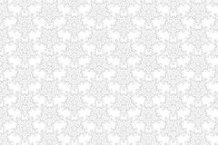 Bridal lace pattern. Seamless isolated pattern for fabric - bridal lace Royalty Free Stock Image