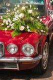 Bridal limousine Stock Image