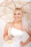 Bridal make-up and accessories Stock Photos