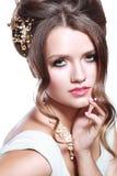 Bridal make up Stock Photography