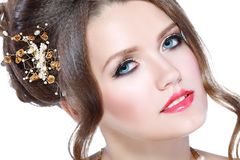 Bridal make up Royalty Free Stock Images