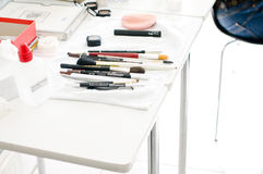 Bridal make up tools Royalty Free Stock Photography