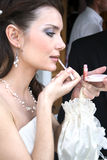 Bridal makeup royalty free stock image