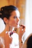 Bridal makijaż w ranku Zdjęcia Royalty Free