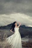 Bridal modeling Royalty Free Stock Photo
