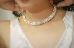 Bridal Necklace Royalty Free Stock Image