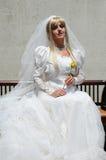 Bridal photo shoot Stock Image
