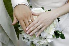 Bridal pierścionek Fotografia Royalty Free