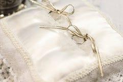 Bridal pierścionek Zdjęcie Stock