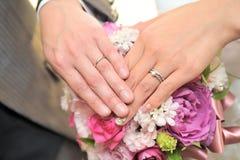 Bridal pierścionek Zdjęcie Royalty Free