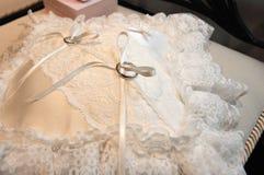 Bridal pierścionek Zdjęcia Royalty Free