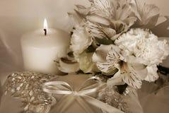 Bridal Pillow stock photos