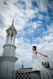 Bridal Portrait stock image
