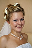 Bridal portrait Stock Photo