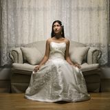 Bridal portrait. Royalty Free Stock Photos