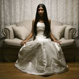 Bridal portrait. Stock Photography