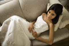 Bridal portrait. Royalty Free Stock Photo