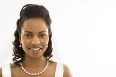 Bridal portrait. Royalty Free Stock Photography