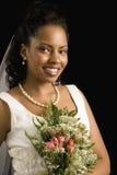 Bridal portrait. Stock Photos