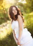 Bridal portrait Royalty Free Stock Image