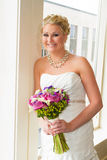 Bridal Portrait Indoors Royalty Free Stock Image