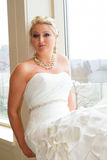 Bridal Portrait Indoors Royalty Free Stock Photography
