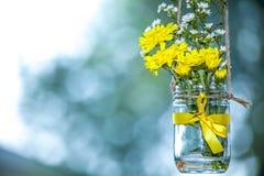 Bridal prysznic kwiaty zdjęcia royalty free