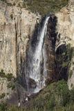 Bridal przesłona Spada w Yosemite dolinie obraz stock