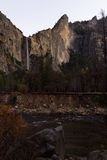 Bridal przesłona spada w Yosemite fotografia stock