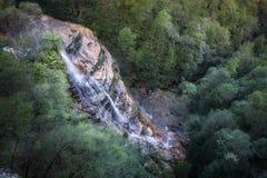 Bridal przesłona spadki przy Leura Spadają kaskadą w Błękitnych górach obraz royalty free