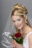 Bridal przesłona Zdjęcia Stock