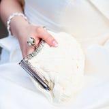 Bridal purse Royalty Free Stock Photo