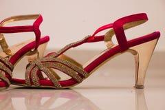 bridal& x27; s鞋类 库存照片