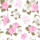 Bridal seamless pattern Stock Images