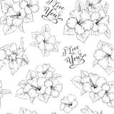 Bridal seamless pattern Royalty Free Stock Images