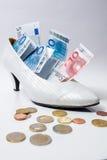 Bridal shoe Royalty Free Stock Image