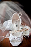 Bridal Shoes Royalty Free Stock Photos