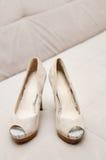 Bridal shoes Stock Photo
