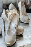 Bridal Shoes -4 Stock Photo