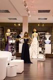The bridal shop. Stock Photo