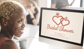 Bridal Shower Bachelorette Party Celebration Marriage Concept Royalty Free Stock Photos