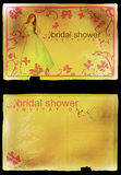 Bridal shower invitation Stock Photography