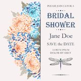 Bridal shower invitation Royalty Free Stock Photo