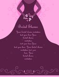 Bridal shower / Wedding invitation Royalty Free Stock Photography