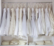 Bridal store Stock Image