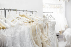 Bridal store Stock Photography
