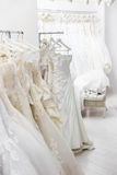 Bridal store Royalty Free Stock Photography