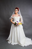 Bridal studio photography Stock Photo